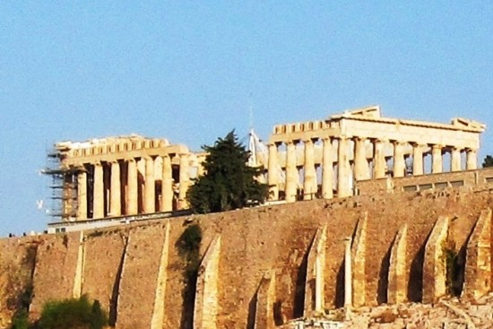 Transfer from Athens Airport to Acropolis of Athens by taxi, coach, mini bus, mini van