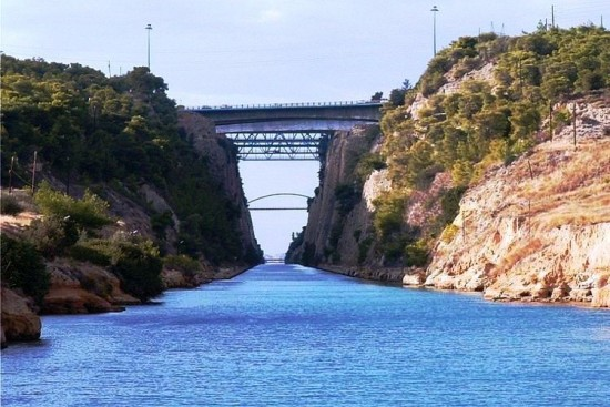 Corinth Canal - Ancient Corinth Private Tour