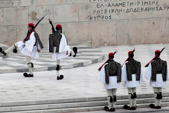 changing of the guards - athens-private sightseeing tour